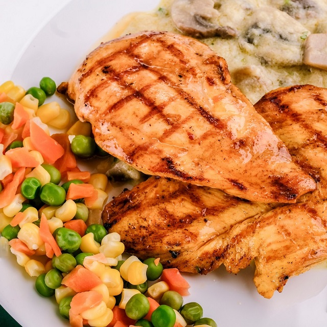Stuffed Grilled Chicken Breasts