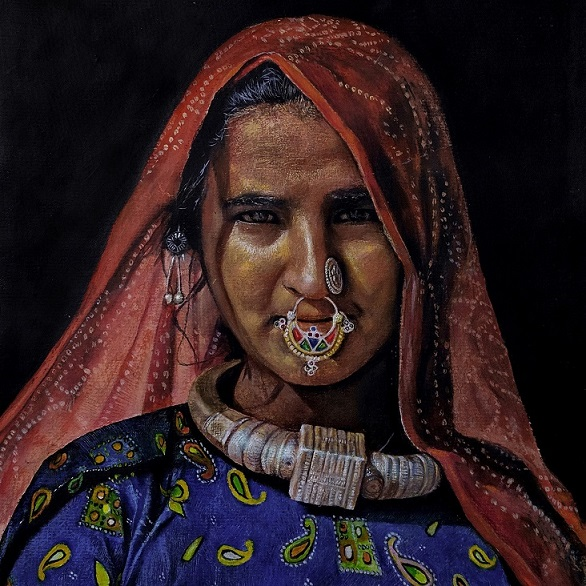 Tribal Woman from Kutch